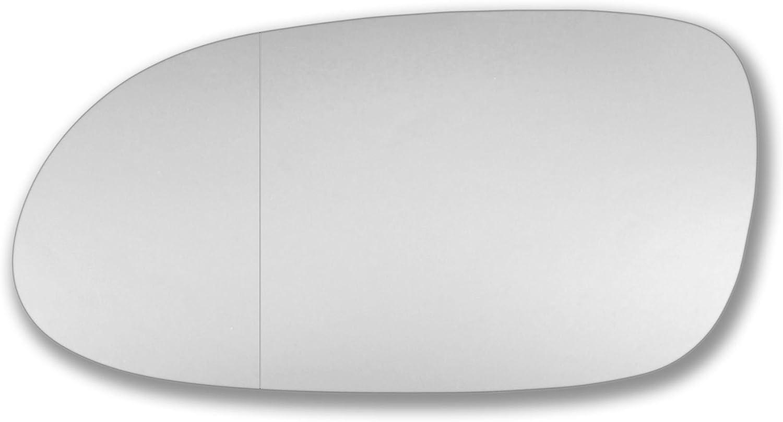 meclk Echtglas T/ür Stick auf Spiegel Ersatz Beifahrerseite Quick Fix Silber # mecl9602lwwl Spiegelglas Glas links