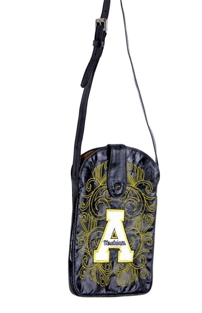 GAMEDAY BOOTS NCAA Womens Ladies Appalachian State University Cross Body Purse