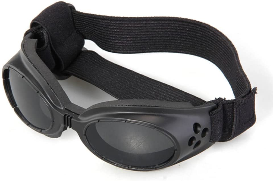 FACILLA® - Gafas de sol con marco de color negro, protección UV, protección contra golpes, gafas de sol