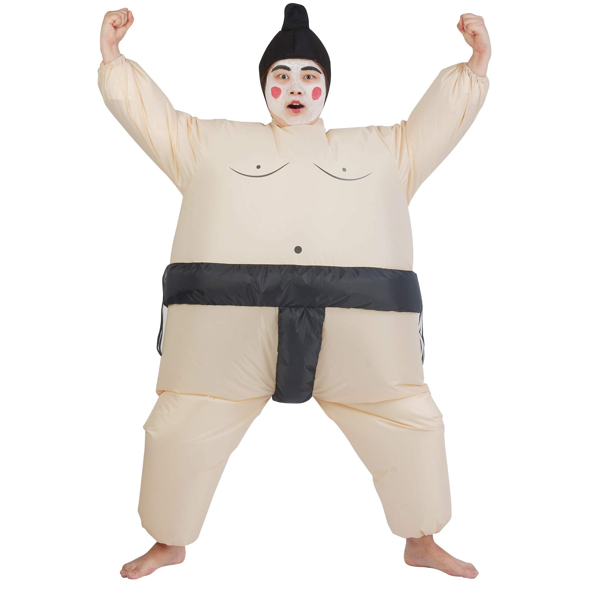 ATDAWN Inflatable Kids Sumo Wrestler Wrestling Suits, Inflatable Costumes, Halloween Costume, Blow Up Costume, One Size Fits Most by ATDAWN