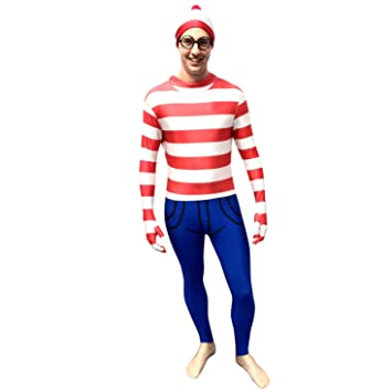 Disfraz de Dónde está Wally Morphsuit - XL: Amazon.es: Juguetes y ...