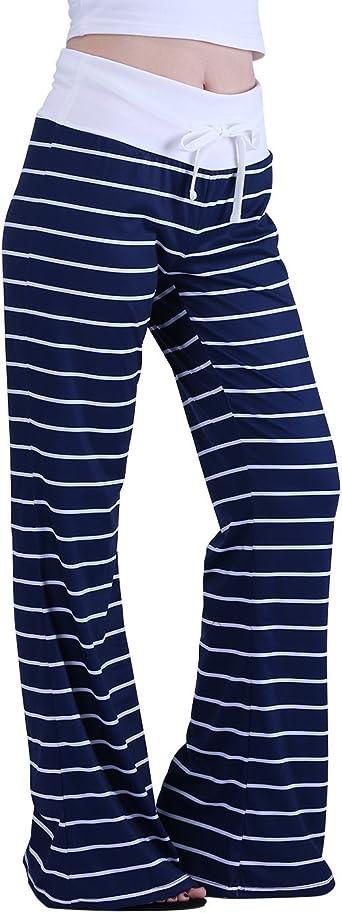 White Stripe Lounge Pants Medium