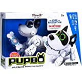 Silverlit Pupbo- A Lifelike Smart Robot Puppy That Can Learn Different Tricks Via Your Voice Commands in Any Local Language of The World