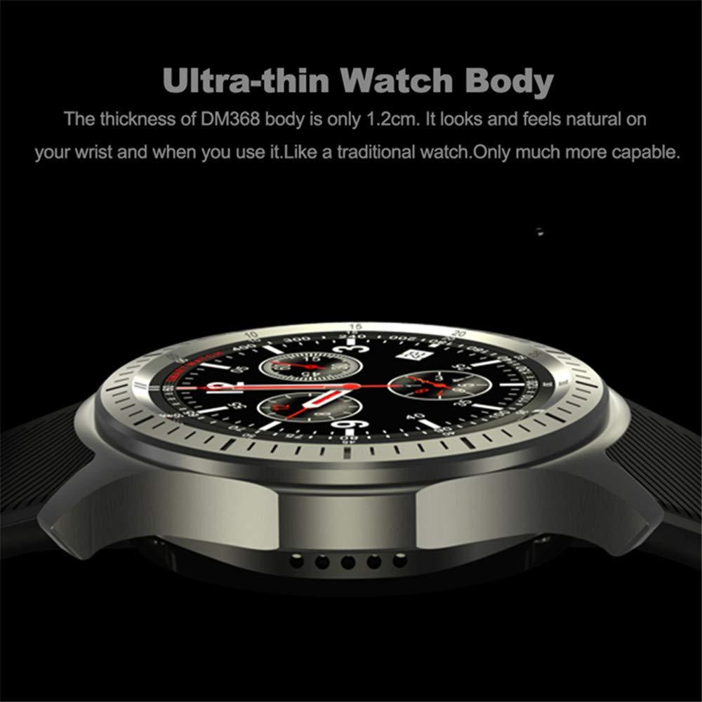 Reloj Inteligente, Pantalla Completa de 1.39 Pulgadas Recordatorio ...