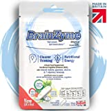 BrainZyme® Original for Concentration & Motivation: UK's 1st Specialist Brain Supplement Natural Nootropic Enhancer: Matcha, Caffeine + L-Theanine, Choline, B Vitamins = Fast Cognitive Boost + Energy