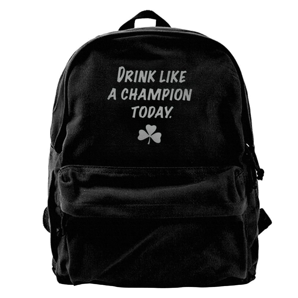 32c378cbef07 50%OFF Man s Drink Like A Champion Today Interesting Backpack ...