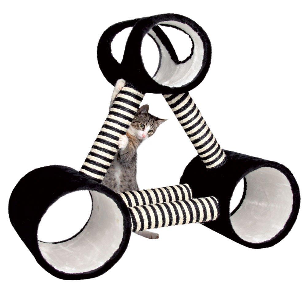 Trixie 44657 CALVIA arañazos Triángulo, 84 x 30 cm, color blanco y negro: Amazon.es: Productos para mascotas