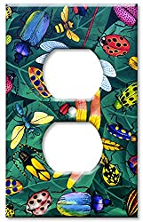 Art Plates - Bugs Switch Plate - Outlet Cover
