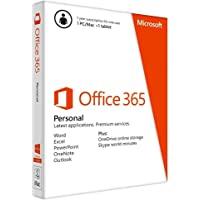 Microsoft Office 365 Personal, 1 Year Subscription 1 User
