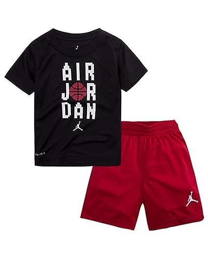 10d08def12b8 Amazon.com  NIKE Jordan Toddler Boys 2 Piece Jumpan Pants   Top Set ...