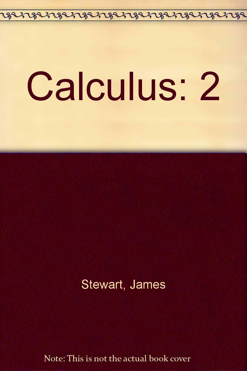 Calculus: Student Solutions Manual, Vol. 2: James Stewart, Barbara Frank:  9780534066925: Amazon.com: Books