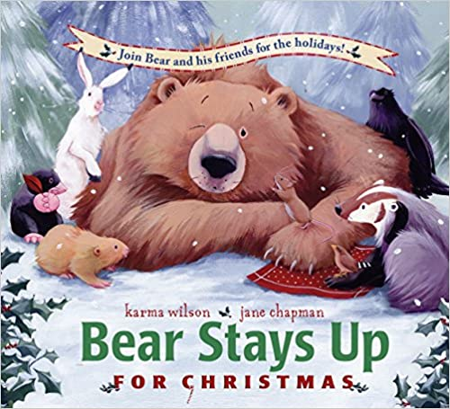 Bear Stays Up for Christmas Book Cover