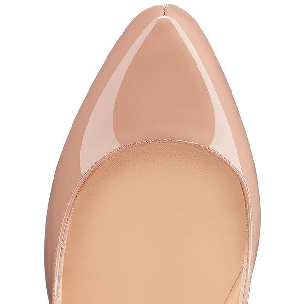 e45f14609107e7 EDEFS - Escarpins Femme - Bout Rond Chaussure - 4CM Plateforme - Talons  Hauts: Amazon.fr: Chaussures et Sacs