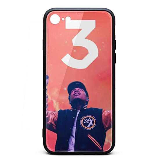 Amazon Com Iphone 7 Iphone 8 Case Chance The Rapper Coloring Book