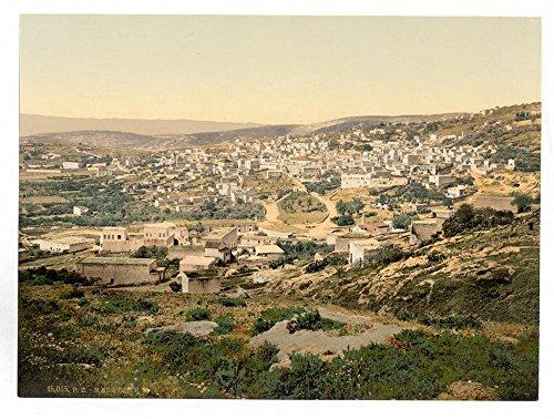 Historic Photos From the road to Cana, Nazareth, Holy Land, (i.e, Israel) by Historic Photos