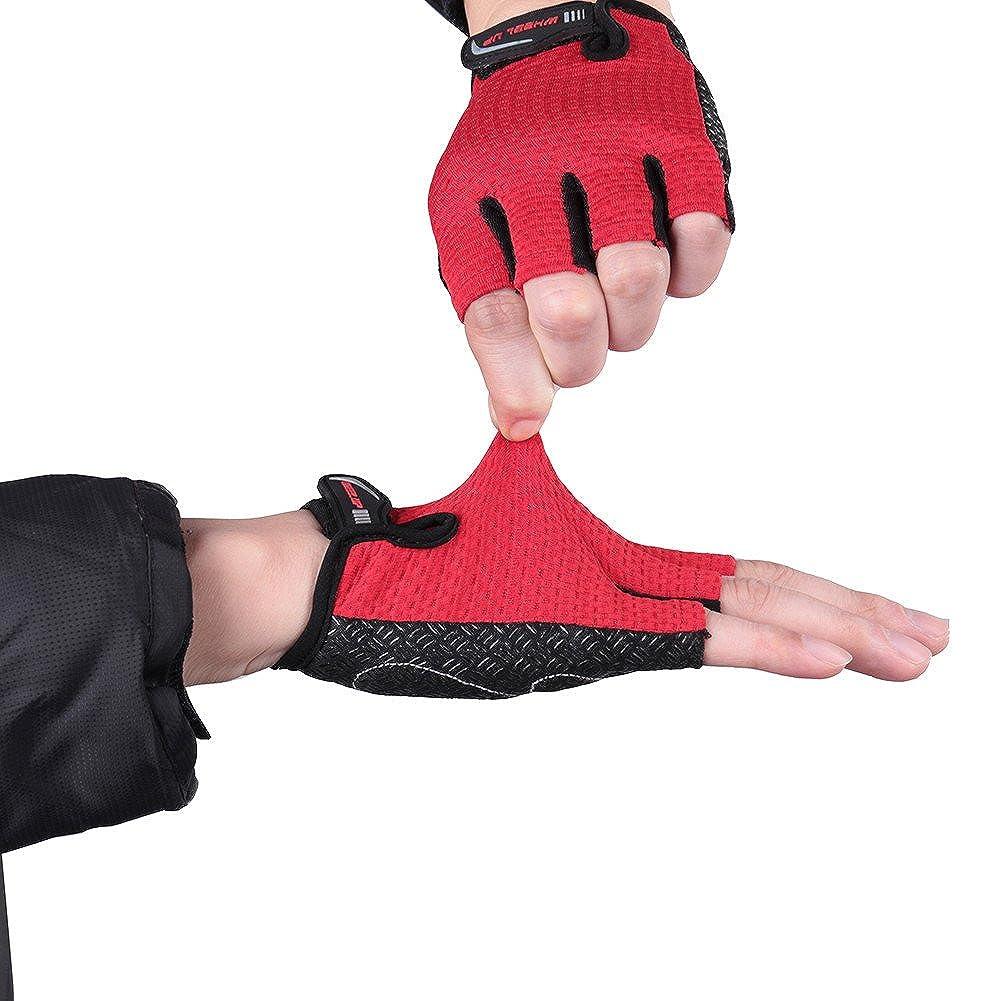 Cebbay Gants de Fitness Gants Homme Femme Musculation Sport Mitaines Robustes Bonnes Sensations Facile /à Enfiler et Enlever Parfait pour Cross Fit VTT V/élo Cyclisme Gym etc.Gloves
