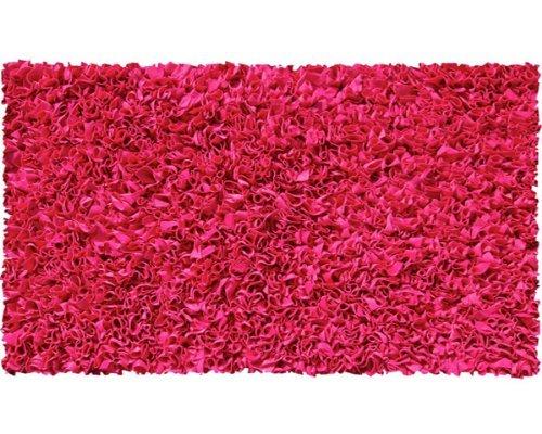 Raspberry Rug Rug - The Rug Market Shaggy Raggy Raspberry Area Rug  Size 22