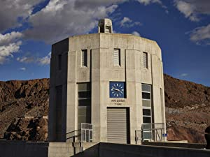18 x 24 Ready to Hang Canvas Wrap of One of Four 338-foot-high Intake Towers That Stand in The deep Waters of Lake Mead Behind Massive Hoover Dam which straddles The Border Between p10 2018 Highsmith