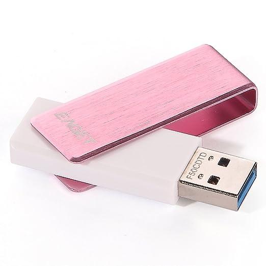 2 opinioni per EAGET F50 Penna USB 3.0 ad Alta Velocità con Coperchio Girevole in Metallo- Rosa