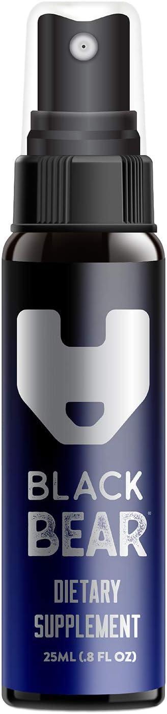 Black Bear Energy Spray (Hydroxy & ADENOSYL B12) Vitamin B-12 Spray 25mL