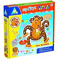 Orb Factory Limited My First Sticky Mosaics Zoo Animals