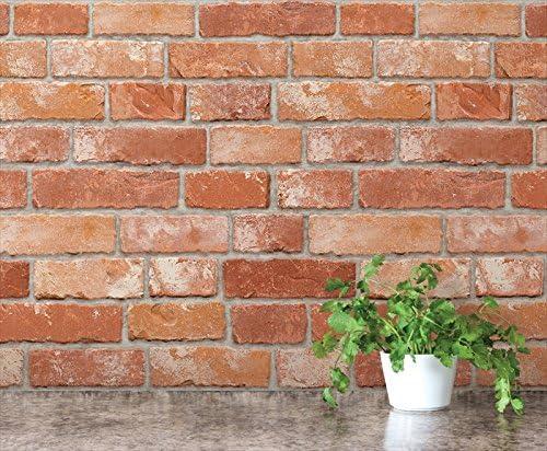 FIXPIX 壁紙シール レンガ 50cm×15m HWP-21632 はがせる壁紙 シールタイプ