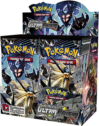 Pokemon TCG Sun & Moon Ultra Prism 36 Pack Booster Box (Best Alola Form Pokemon)