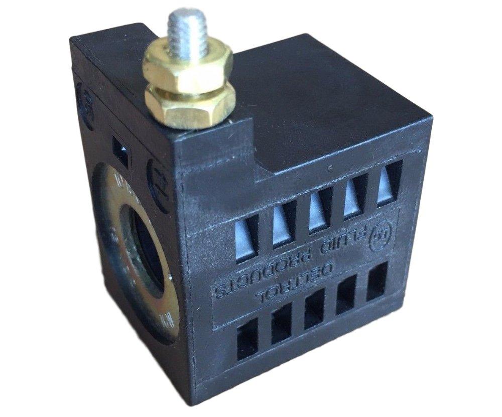 SPX Fenner Stone EF-1082 Deltrol 10196-61 12VDC Solenoid Coil 16W Single Stud by DELTROL