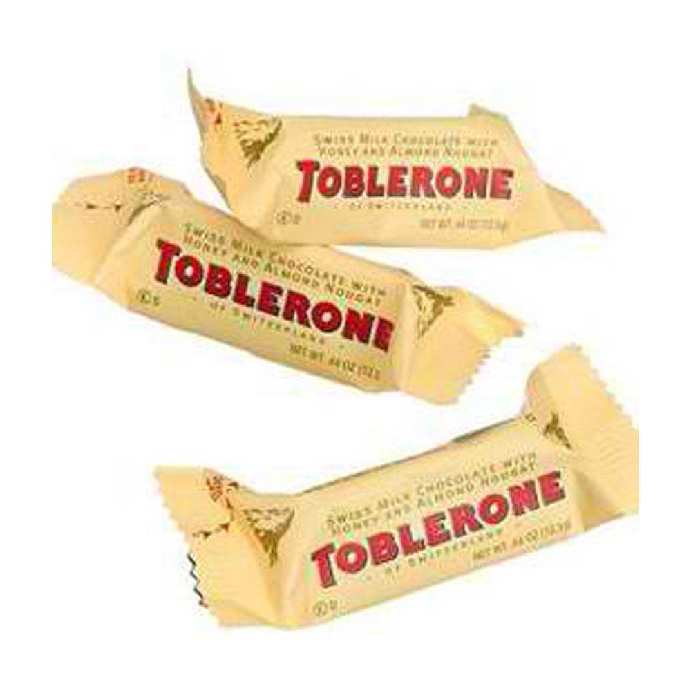 Amazon.com : Mini Toblerone Chocolate Fun Size Bars 48 Count ...
