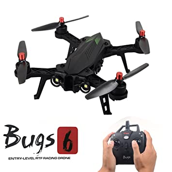 MJX bug6 Racing Drone Quadcopter Racer, D43 FPV mornitor, C5830 ...