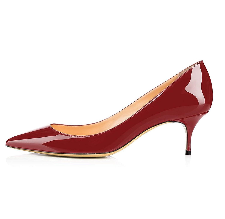Soireelady Escarpins Femme à Talon Moyen Élégante Club Soiree Bureau Chaussures