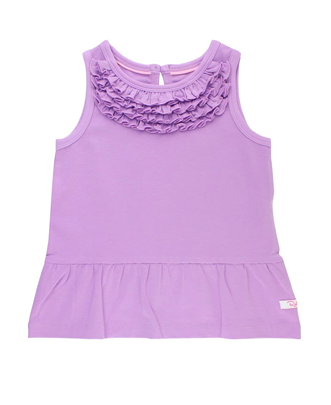 RuffleButts Baby/Toddler Girls Knit Peplum Tank Top TTKYYXX-PEPR-SC-BABY