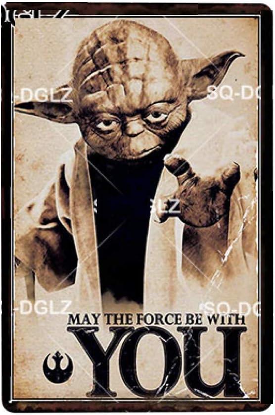 Piastra metallica Maitre Yoda KUSTOM FACTORY