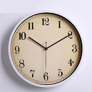 H&M Reloj de pared Reloj de pared de pared de metal moderno europeo reloj de la ...