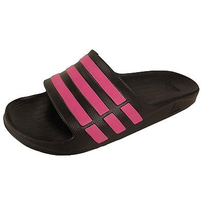 a38beeb3a Mens Adidas Duramo Slide Sandals Pool Beach Water Flip Flop Sandal Shower 12