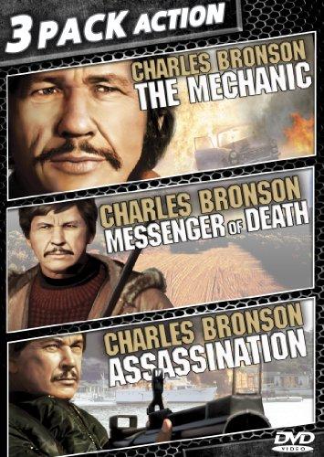 The Mechanic / Assassination / Messenger Of Death (Messenger Dvd)