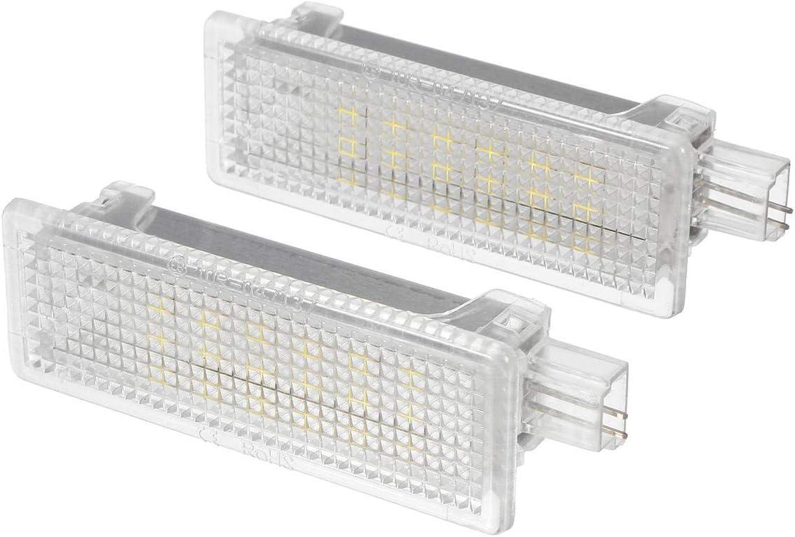 Lámpara LED de cortesía para puerta de BMW E92 E81 E87 F20 E60 1 3 ...