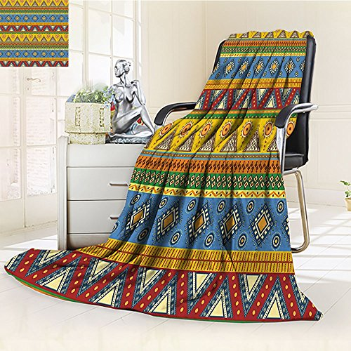 Aztec Blanket by Nalohomeqq Traditional Classic Navajo Folk