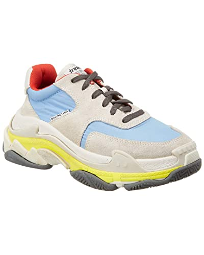 47280ad3c5b9 Image Unavailable. Image not available for. Color  Balenciaga Triple S  Leather ...