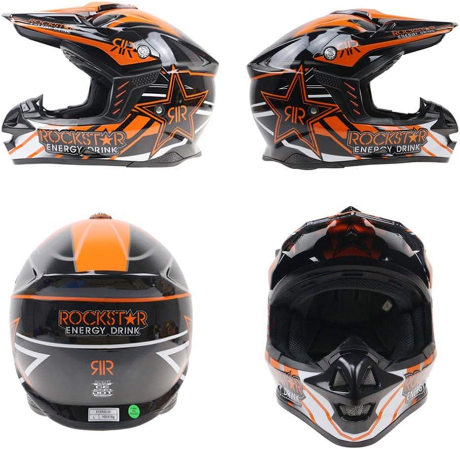 Motocross Helm Unisex Pers/önlichkeit Helm Vollgesichts Beach Racing Mountainbike ABS Material Allround Helm