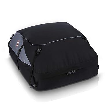 sailnovo sac de toit voiture pour voyage coffre de toit voiture souple 580l. Black Bedroom Furniture Sets. Home Design Ideas