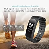Fitness Tracker Heart Rate Monitor, Ginsy Smart