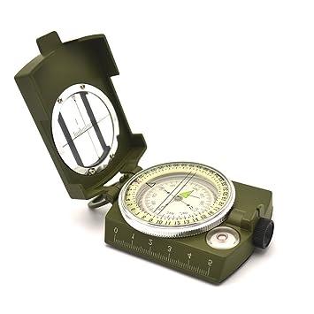 e43e8d4e81 NIUAO コンパス 方位磁石 方位磁針 羅針盤 方向指示 高精度 折り畳み式 蓄光 防水 軽量