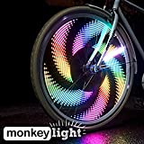 Monkey Light M232R - 200 Lumen - USB Rechargeable - Bike Wheel Light - 32 LED