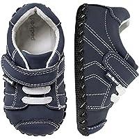 pediped Originals Jake Sneaker (Infant),Navy,Large (18-24 Months)