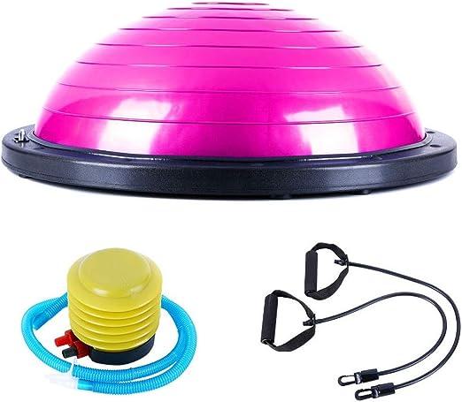 Balones Ejercicio Yoga,Bola De Equilibrio, Media Pelota Fitness ...