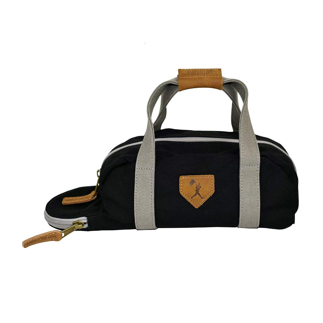 Flag Man Toiletry Bat Bag - Glove Leather and Canvas