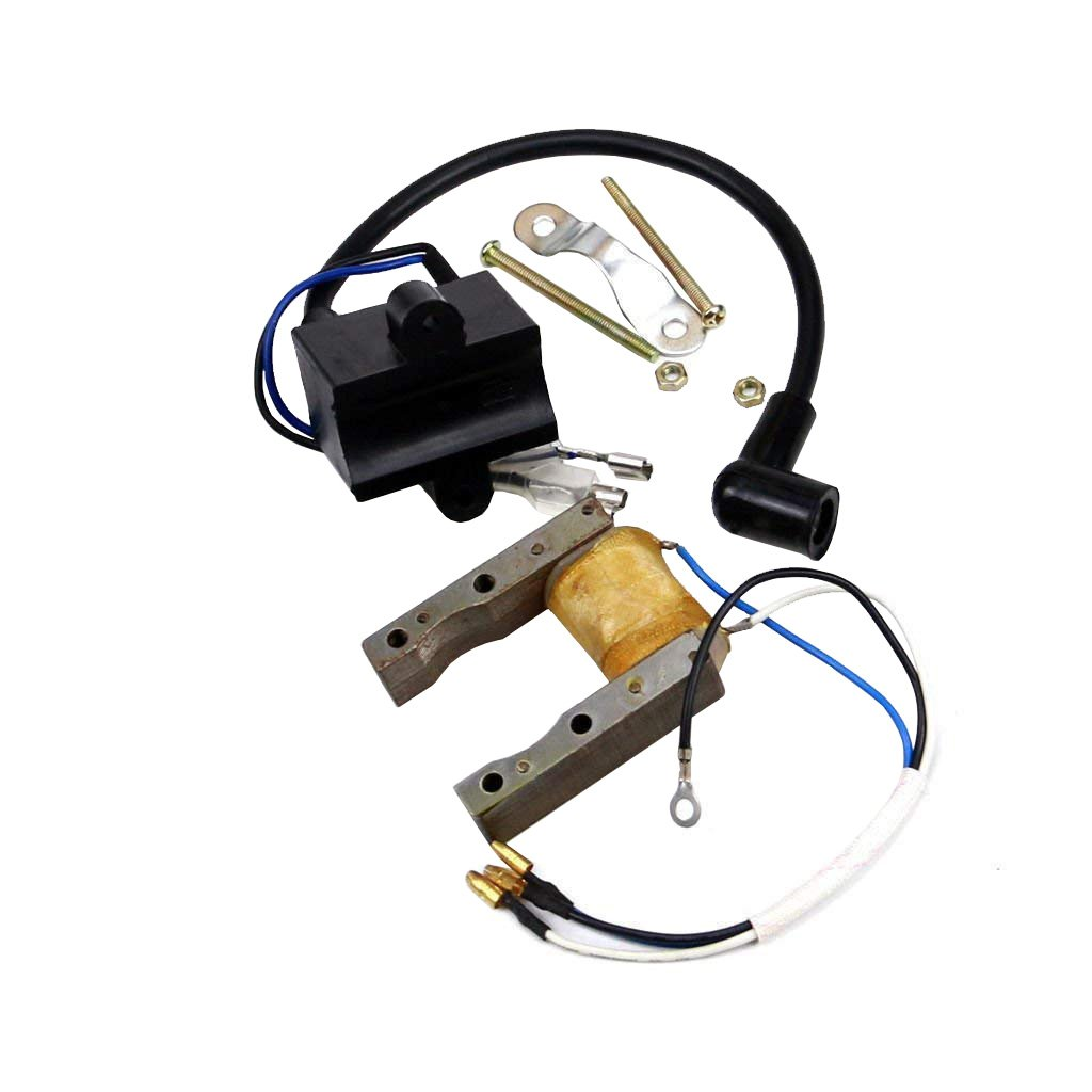 WPHMOTO CDI Ignition Coil Magneto Stator Coil Kit for 50cc 60 66cc 80cc Engine Motorized Bike