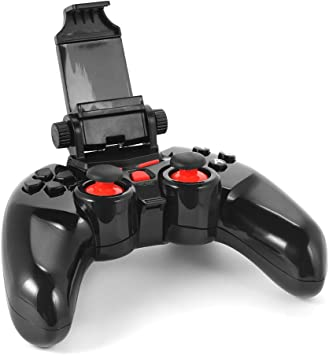 XCSOURCE® Dobe Inalámbrico Wireless Gamepad Bluetooth Control de Juego con Ajustable sostenedor del Soporte para iOS/Android Smartphone/Tablet/Smart TV/Receptor de TV/PC AC498: Amazon.es: Electrónica