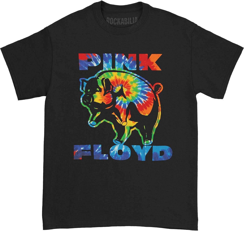 Pink Floyd - Camiseta para Hombre, diseño psicodélico, Color Negro - Negro - Small: Amazon.es: Ropa y accesorios